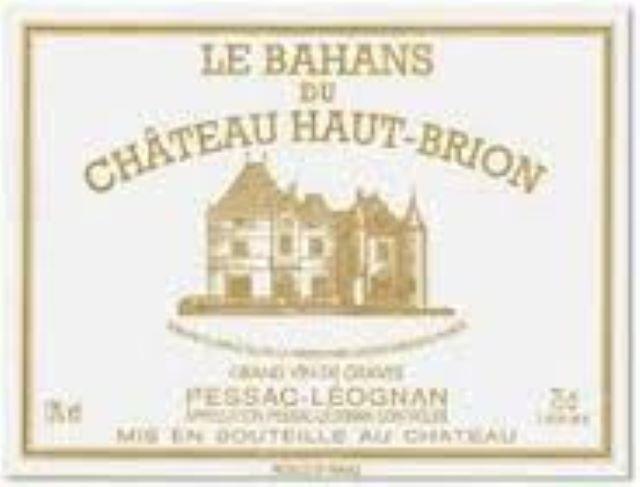Bahans Haut Brion ou Clarence de Haut Brion