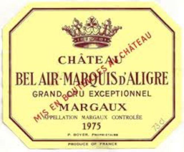 Château Bel Air Marquid d'Aligre